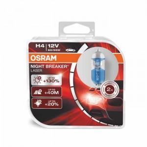 Žarnice OSRAM Night Breaker Laser H4 12V 60/55W - DUO box