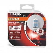 Žarnice HB4 OSRAM Night Breaker Unlimited - DUO pack