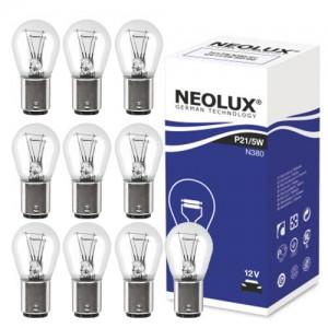 Žarnice P21/5W 12V NEOLUX, Bay15d - N380, 10 kos