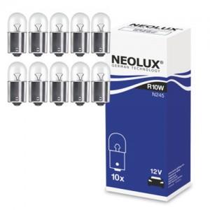 Žarnice R10W 12V NEOLUX, Ba15S - N245, 10 kos