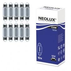 Žarnice softine 39mm 12V 5W, NEOLUX - N239, 10 kos