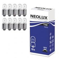 Žarnice T4W 12V NEOLUX, Ba9S - N233, 10 kos