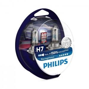Philips žarnice H7 RacingVision 150% - par