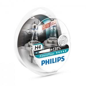 Philips žarnice H4 X-treme Vision 130% - par